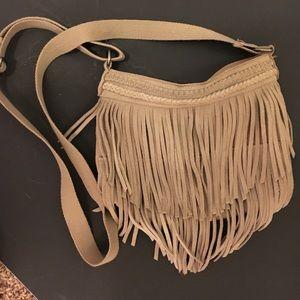 American Eagle Limited Fringe Crossbody Bag