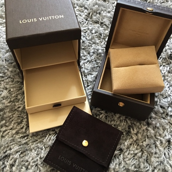 Louis Vuitton SOLD Louis Vuitton Ring Jewelry Box and Pouch from