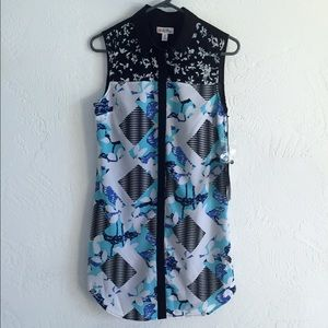 NWT Peter Pilotto for Target button down dress