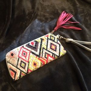 Colorful Wristlet / NEW