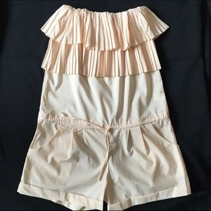 36 Point 5 Dresses & Skirts - 36 Point 5 strapless romper with drop waist L