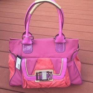 Guess Handbags - 🌸NWT🌸 LARGE GUESS BAG - great color combo