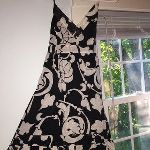 Black and white Old Navy summer dress