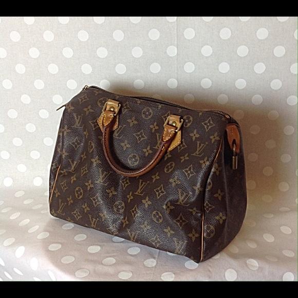 3d1498de9 Louis Vuitton Bags | Lv Monogram Canvas Speed 30 Bag | Poshmark
