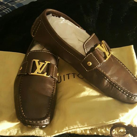 d137560c8cf0 Louis Vuitton Other - Mens louis vuitton loafers size 10 Eur 10.5 US