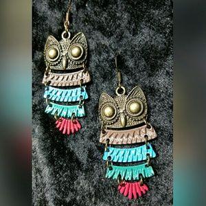 Jewelry - Owl Earrings
