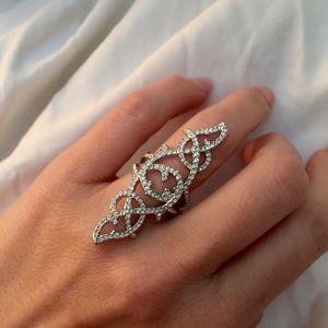 Swarovski Jewelry - Swarovski Grace crystal ring