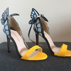 "Shoes - 3"" Butterfly Heels"