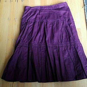 Banana Republic Peasent Skirt