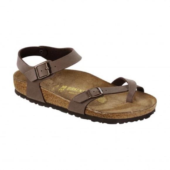 0325fd8b5af Birkenstock Shoes - Birkenstock Taormina in mocha color size 39  rare