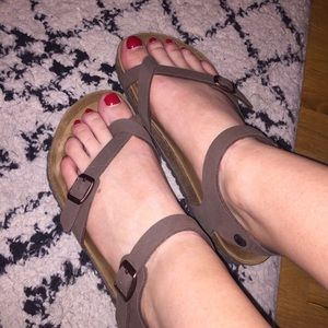 1d7bbe1774d071 Birkenstock Shoes - Birkenstock Taormina in mocha color size 39  rare