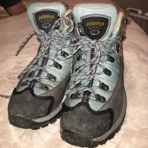 Asolo Shoes - Asolo hiking boots size 6.5 - light blue