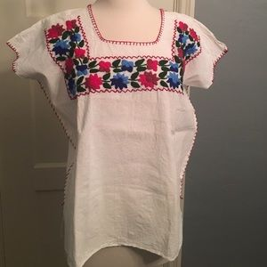 Cotton Mexican handmade shirt