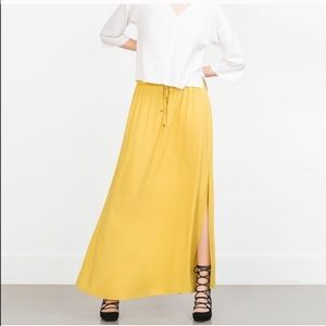 Zara Dresses & Skirts - ⚡️SALE TONIGHT⚡️ZARA maxi skirt