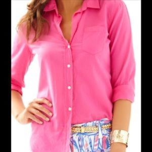 Lilly Pulitzer Anna Maria in Capri pink, medium