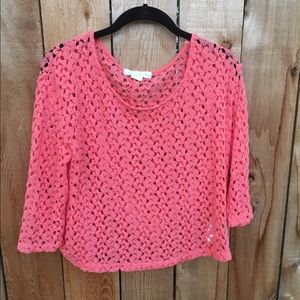 Staring at stars lace blouse
