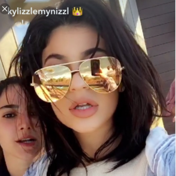 e31d694c636 ❤️Quay - HIGH KEY SUNGLASSES❤️GOLD😍Kylie Jenner
