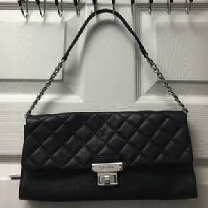 BNWT Calvin  Klein quilted leather bag