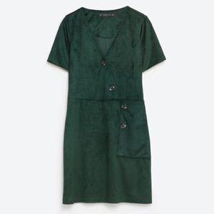 Zara Dresses & Skirts - Zara Suede Dress