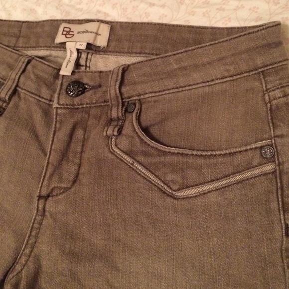 tan bootcut jeans - Jean Yu Beauty