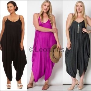 Pants - 🏆HOST PICK🏆🇺🇸PLUS Size Harem Jumpsuit Boho