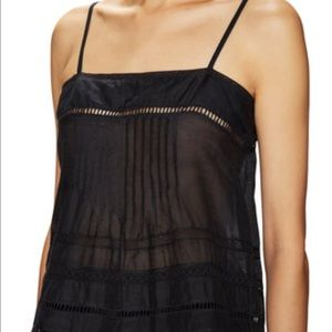 Falcon and Bloom cotton and lace Cami