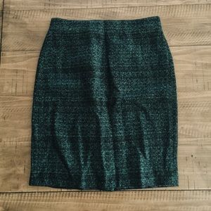 Jcrew factory pencil skirt [DARK GREEN / EMERALD]