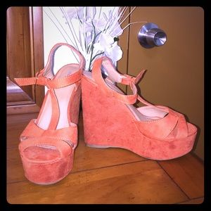 Orange PEEKA SCOR sandals