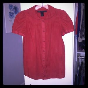 """Marc by Marc Jacobs """"Ruby Red"""" Cotton Blouse"""