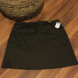 NEW* Old Navy Brown Dressy Skirt Size 8