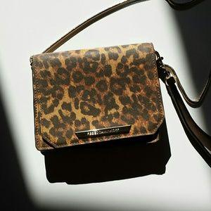 Rebecca Minkoff Handbags - RM leopard print clutch/ crossbody purse