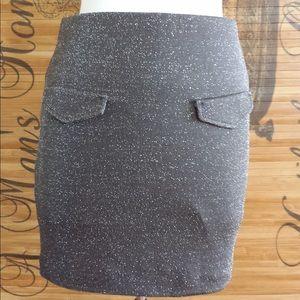 BCBGeneration Skirts - BCBGeneration charcoal skirt