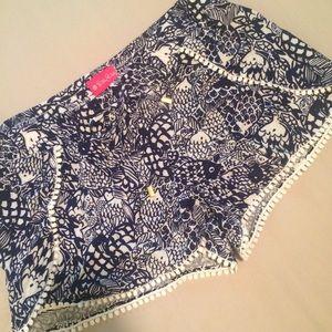 Lilly Pulitzer + Target fish print shorts