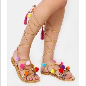 Shoes - POM POM sandals
