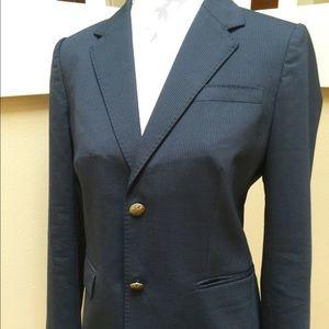 J. Crew pinstripe blazer