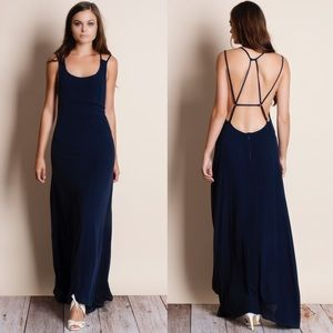 Rendezvous Backless Maxi Dress