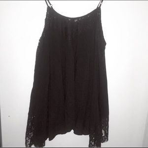 ANGL Dresses & Skirts - Laced black Dress/Top 👗