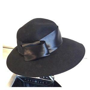 BCBG Felt & Satin Hat