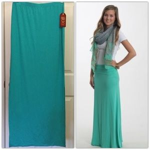other Dresses & Skirts - 🆕 Teal Maxi Skirt NWT!