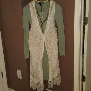 Sweaters - Boho Chic Sweater Vest