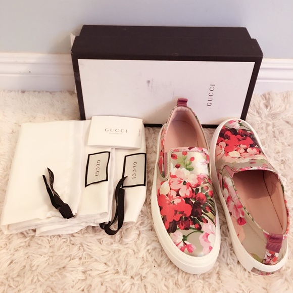 be10776b2 Gucci Shoes | Sold On Tradesy Board Floral Sneaker | Poshmark