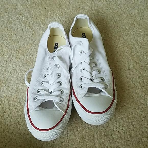 980d587080a8ce Converse Shoes - White converse size 7.5