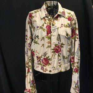💕Cute Liz Ware Floral Jacket 💕