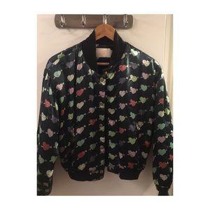 Vintage like baseball/bomber jacket TOPSHOP