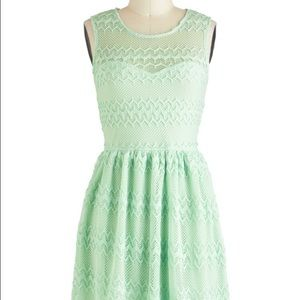 "Modcloth's ""It's all Mint Believe"" Dress"