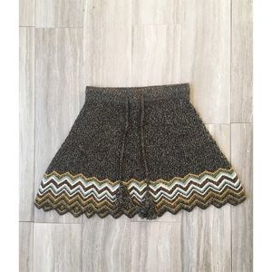 Urban Outfitters Dresses & Skirts - NWT UO Chevron Sweater Skirt