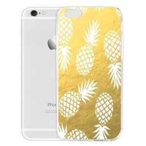 Accessories - Gold Pineapple Soft IPhone Case