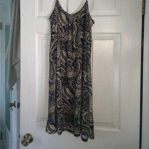 Dresses & Skirts - paisley printed slip dress