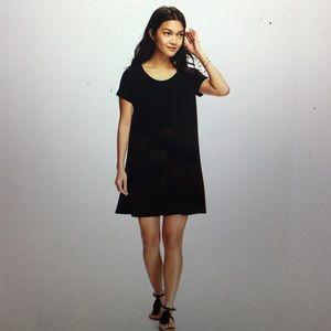 c54980ef75cc Old Navy Dresses | Jerseyknit Swing Dress In Blackjack Petite Large ...
