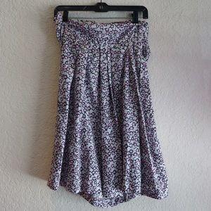 Dries Van Noten Silk Wrap Skirt 36 XS